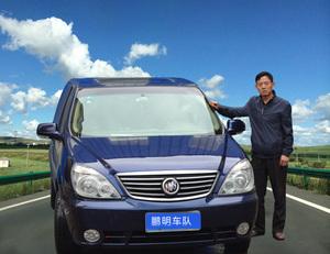 别克商务GL8蓝色-青海鹏明旅游车队